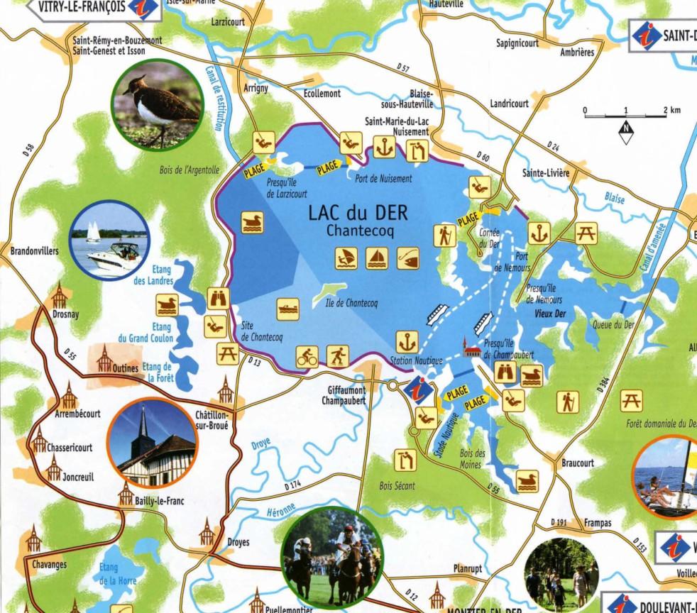 A d couvrir pied v lo en bateau en voiture location g tes au lac du der en champagne - Office tourisme lac du der ...